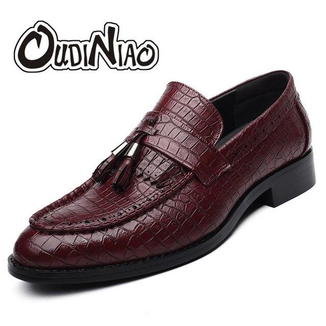 Мужские туфли без шнуровки с бахромой 71e1586d687a2