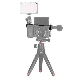 Image 5 - SmallRig Cold Shoe Relocation Mount for Sony A6100 / A6300 / A6400 / A6500 w/ 2 cold Shoe Mount For Microphone  DIY Options 2334