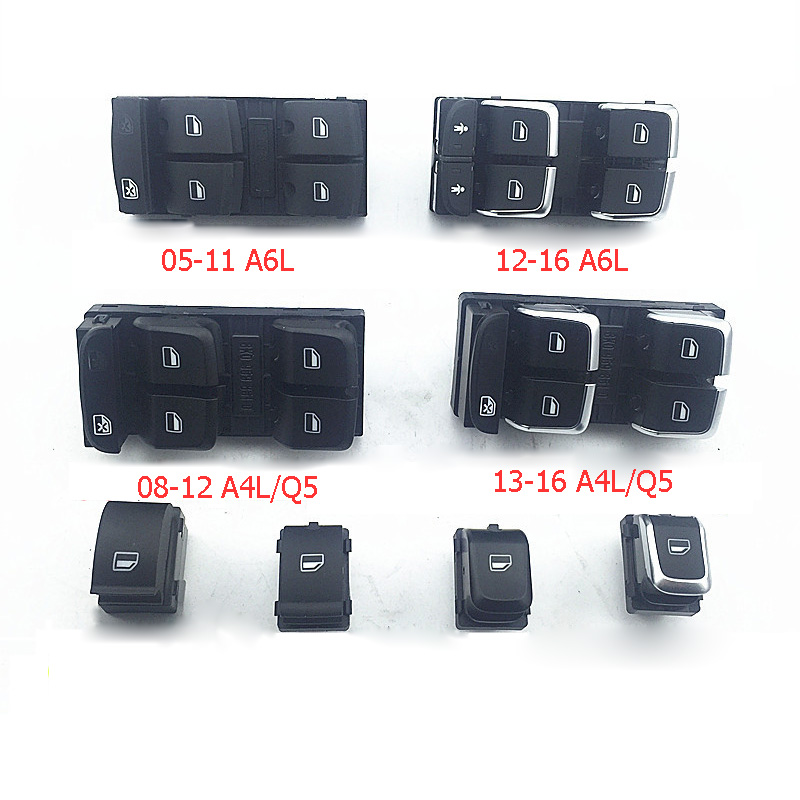 Car Switches & Relays Car Modification Electronic Window Lifter Switch Buttons For Audi A4/q5 Electroplating/plating Car Accessories Back To Search Resultsautomobiles & Motorcycles