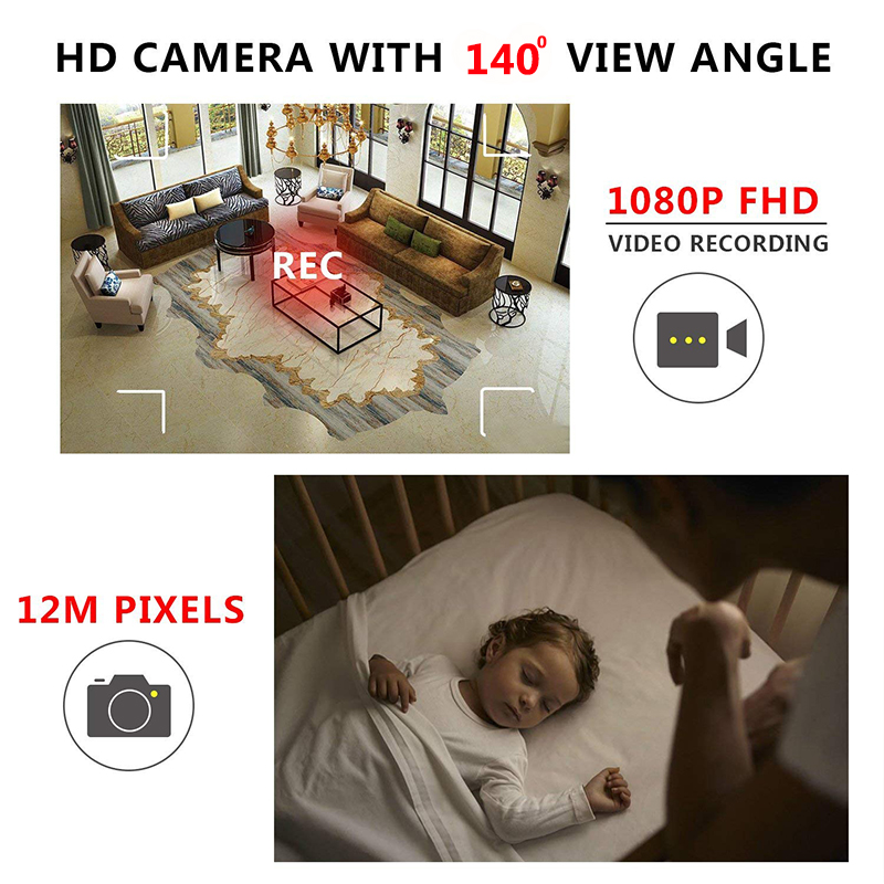 sq6 mini camera with 1080p sensor night vision motion detection and tf card support
