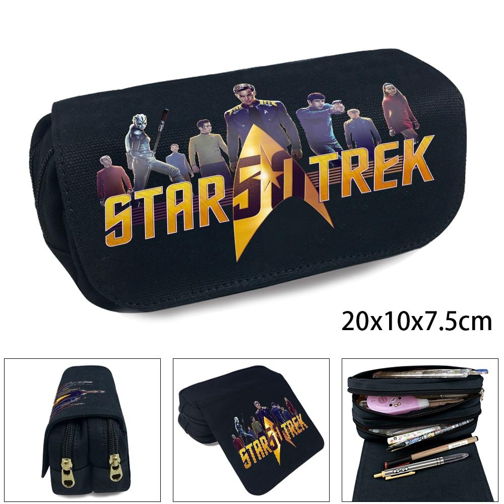 OHCOMICS Movie Star Trek Insignia Starfleet Heat otaku S.S. Yorktown Pencil Bag Pencil Case Study School Costume Students Gift