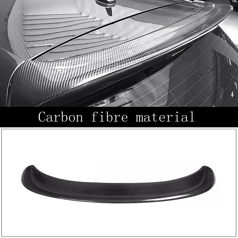 SHCHCG Car Styling For Volkswagen Golf 5 V MK5 New High Quality Carbon Fiber Rear Spoiler Tail Trunk Wing Boot Spoiler 1Pcs