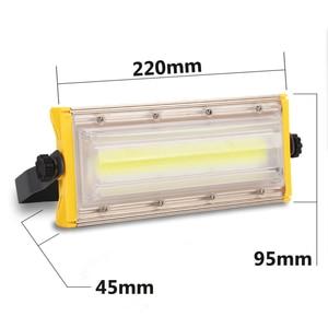 Image 5 - LUCKYLED Led Flood Light 50W 220V 240V Waterproof Ip65 Floodlights Led Reflector Outdoor Led Spotlight Garden Lighting