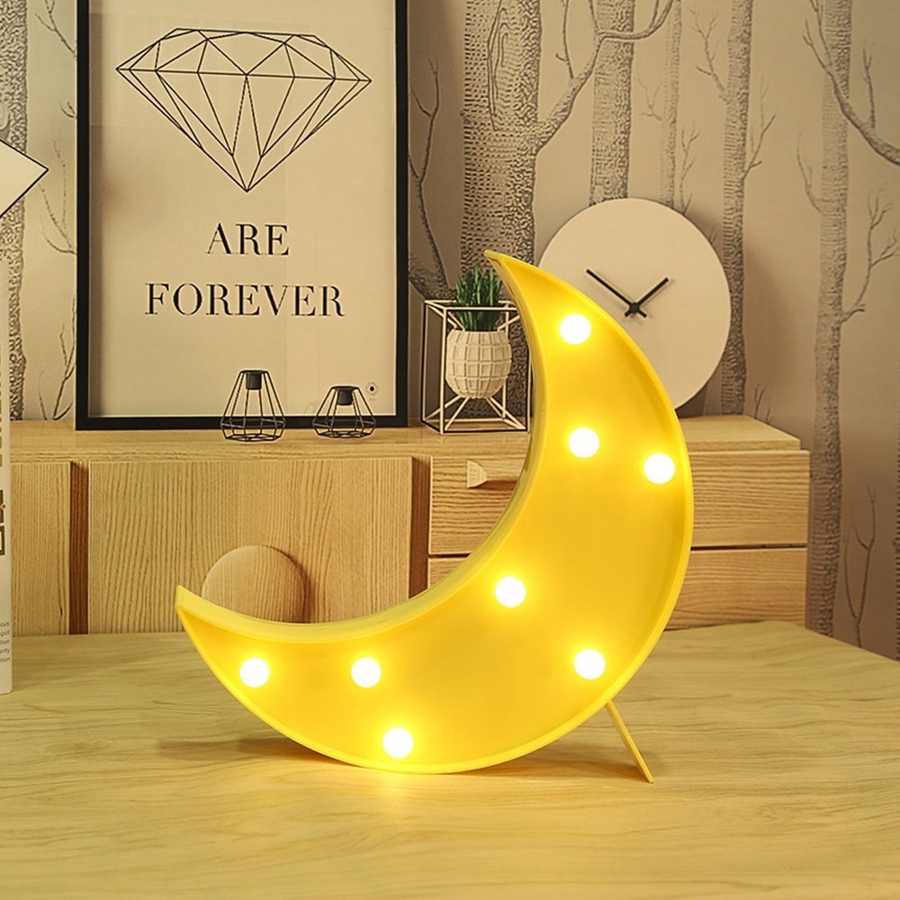 AGM Moon Light LED Night Light 3D Luna Moon Lamp Hanging Cute ...