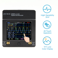 DSO112A TFT Mini Digital Oscilloscope Touch Screen Portable USB Oscilloscope Interface 2MHz 5Msps