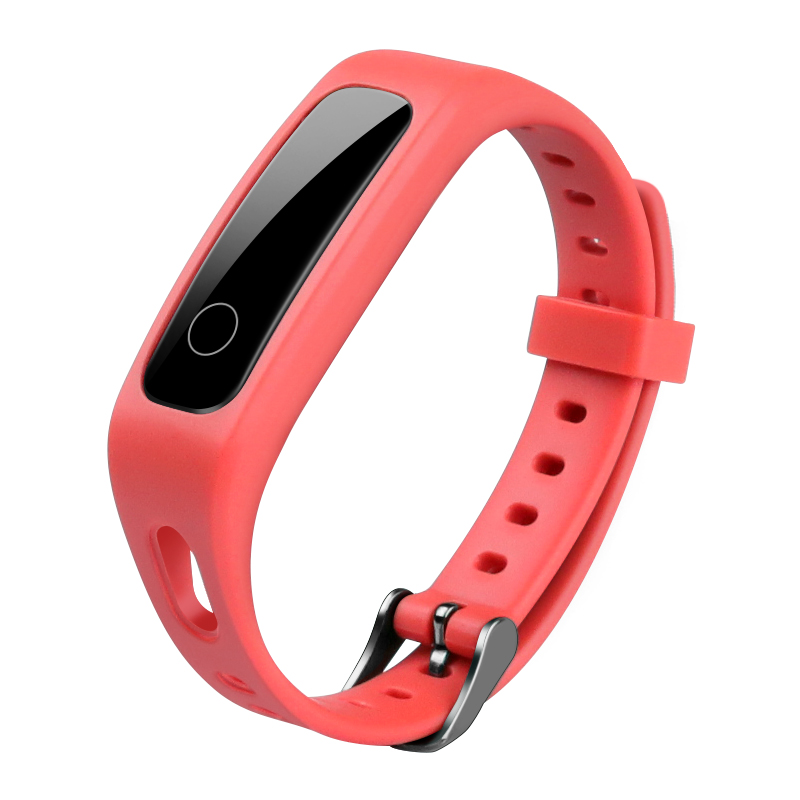Умный спортивный ремешок для Honor Band 4 Running Edition/huawei band 3E силиконовый ярких цветов сменный ремешок - Цвет: 2