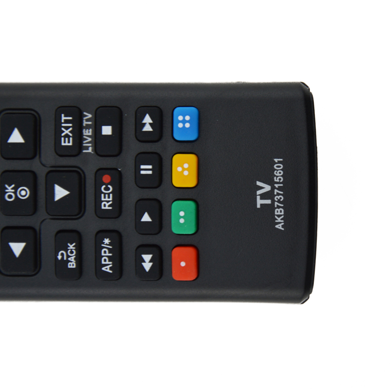 Onsale 1pc Dedicated Replacement Remote Control Telvision Black Remote Controller For LG AKB73715601 Smart TV Mayitr