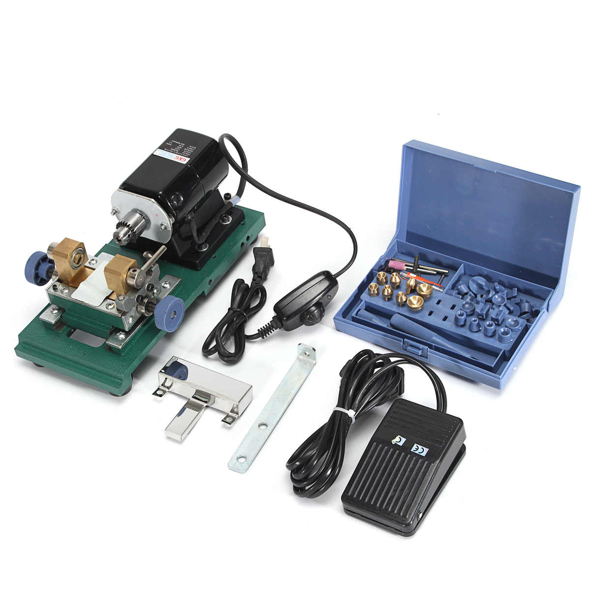 New 110V 280W 60Hz Pearl Drilling Holing Machine Driller Bead Jewelry Punch Engraving Engraver Machine Tool Full Set