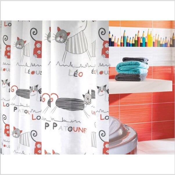 Multiple Size Cute Cartoon Cat Winx octopus funny Print Bath Anime Design  Bathroom  Shower Curtain. Aliexpress com   Buy Multiple Size Cute Cartoon Cat Winx octopus