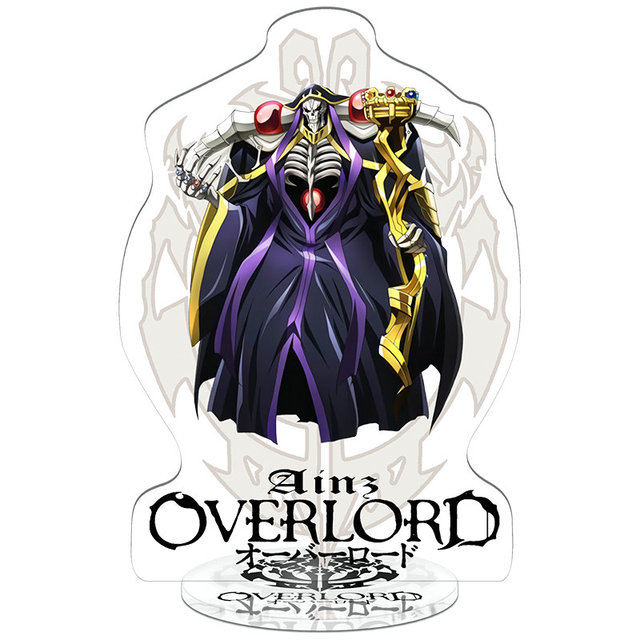 Overlord Characters Double Sided Acrylic Figure (10 types)