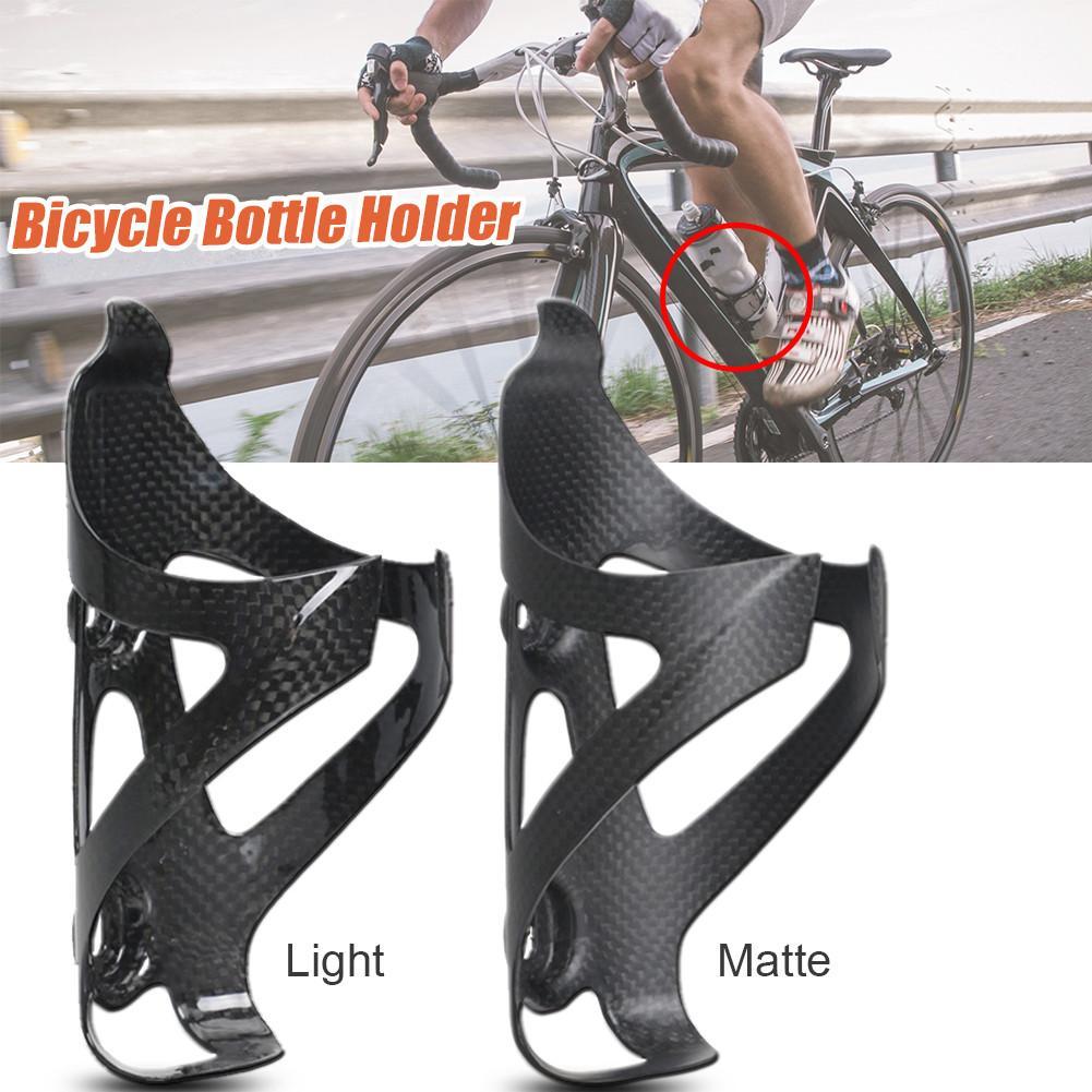 все цены на Full Carbon Fiber Bicycle Water Bottle Cage MTB Road Bike Bottle Holder Ultra Light Cycling Kettle Support