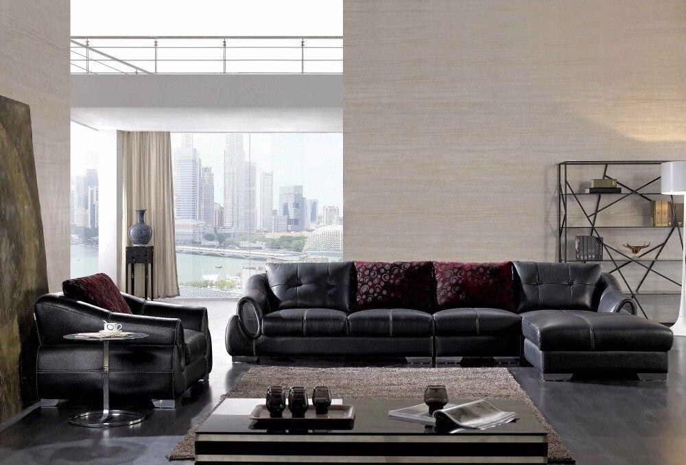2016 Sectional Sofa Bean Bag Chair Chaise Armchair Hot Sale Italian Style Leather Corner Sofas For