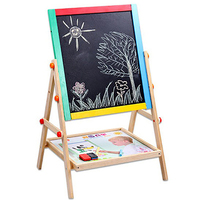 magnetic drawing board table for kids painting large Arts And Crafts For Kids Children Easel Water Doodle Mat Diy Wood To Paint