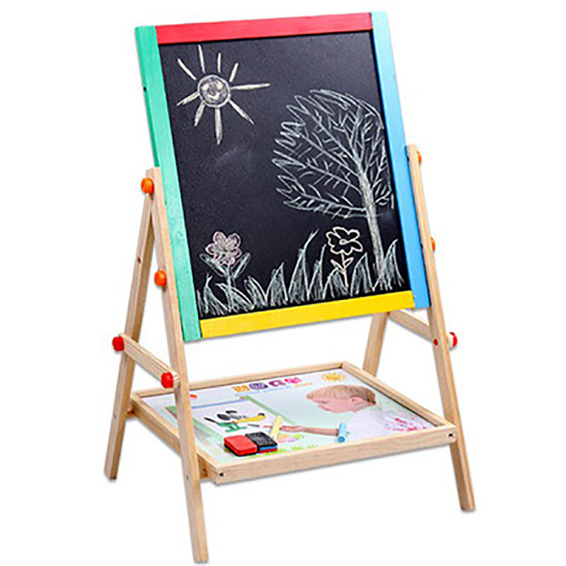 magnetic drawing board table for kids painting large Arts And Crafts For Kids Children Easel Water Doodle Mat Diy Wood To Paint kid water drawing mat doodle board