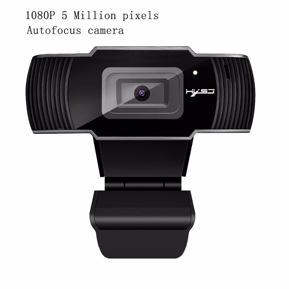 Hxsj New Webcam Hd1080p 30fps Auto Focus Computer Camera Usb Sound