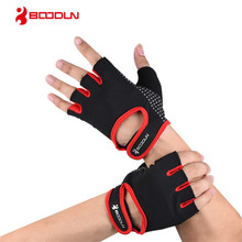 BOODUN Anti-slip Crossfit Weight Lifting Gym Gloves Half Finger Men Women Breathable Fitness Bodybuilding Musculation Equipment