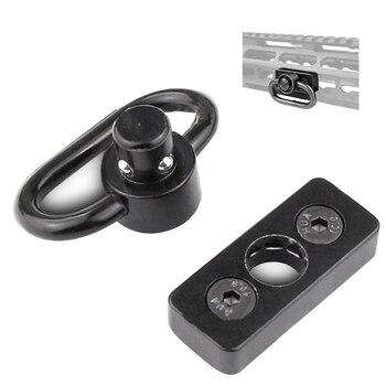 SCOT-18 Tactical Sling giratorio Loop botón QD montaje KeyMod para llave Mod guardamanos riel accesorio Accesorios