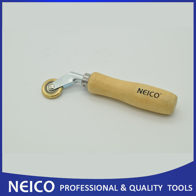 Free Shipping, 10PCS High Quality 6mm Brass Penny Roller For Roofing And Vinyl Floor Corner Penny Roller