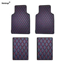 Leather Car Mats Floor Mats For Mazda CX-5 3 6 Ford Hyundai Peugeot Volvo Volkswagen Renault Skoda Nissan foot mat car carpets все цены