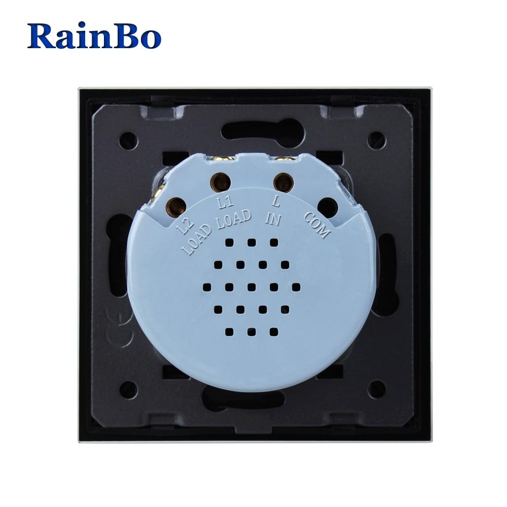 Interruptores e Relés tela 2gang1way a1921xw/b Self Consuming Power : Less Than 0.1mw