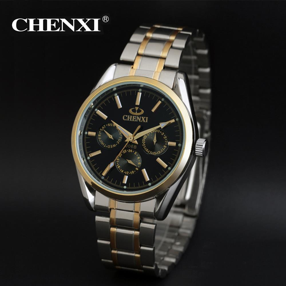 Fashion high quality gold alloy strap quartz wristwatches men women casual watches relogios feminino masculino 2017 high quaitily casual fashion 024