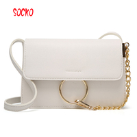2017 Newest Fashion High Quality Women Pu Leather Shoulder Bag Small Crossbody Bag For Classic Flap