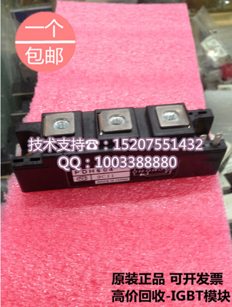 Brand new original Japan NIEC PDH604 Indah 60A/400V thyristor modules brand new original japan niec indah pt200s16a 200a 1200 1600v three phase rectifier module