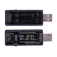 USB 5 V 9 V 12 V 20 V QC 2,0 3,0 LCD Strom Spannung ladegerät Kapazität Tester Usb-ladegerät Doktor Leistungsmesser Text Voltmeter 15% off
