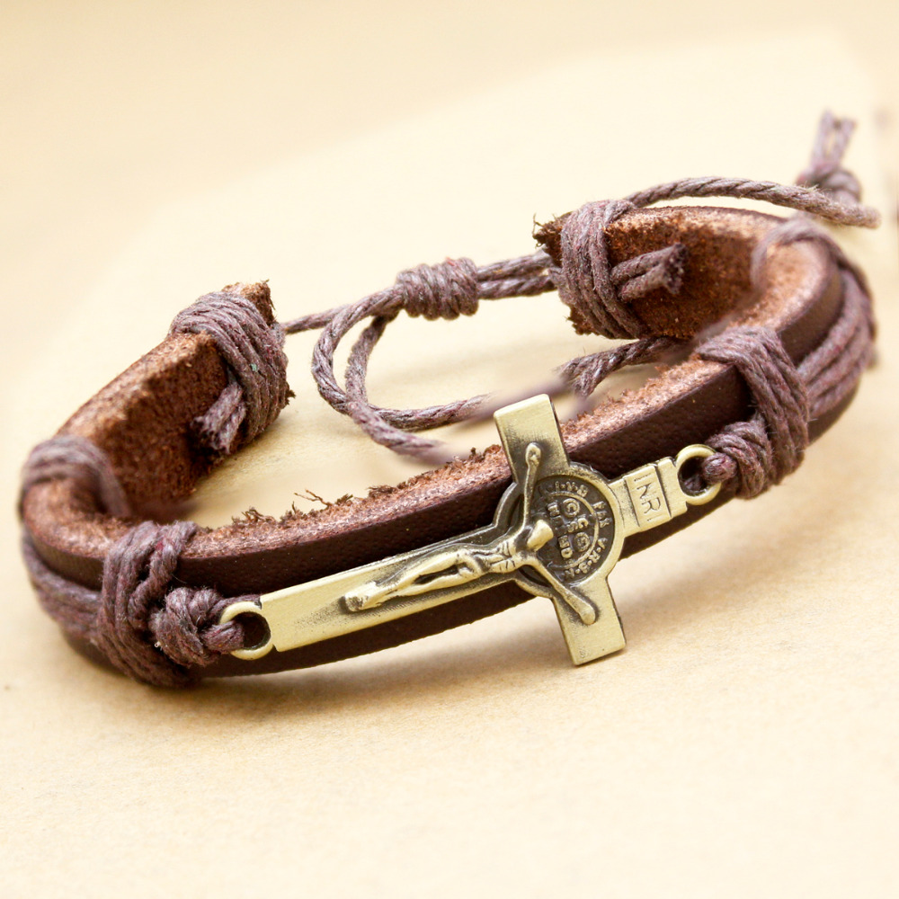 Online Whole Mens Bracelets Religious From China