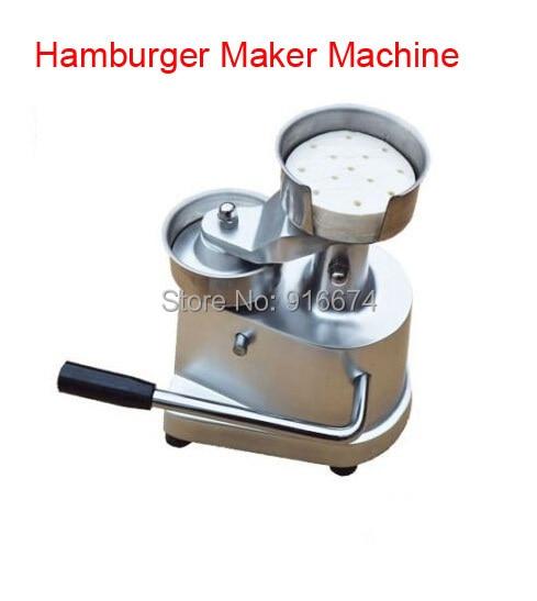 Free shipping 100mm hamburger press,hamburger maker machine,hamburger patty maker Tool New 100mm manual hamburger machine hamburger press machine beef mold machine crab cake form machine