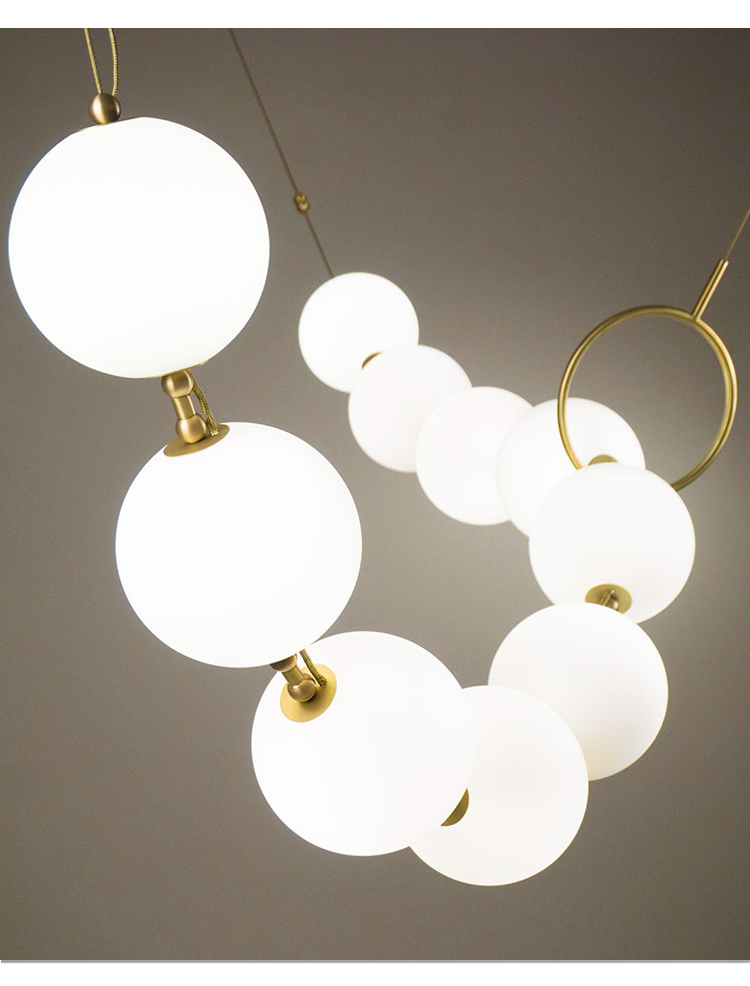 lustre lâmpada quarto cozinha sala jantar longo lustre