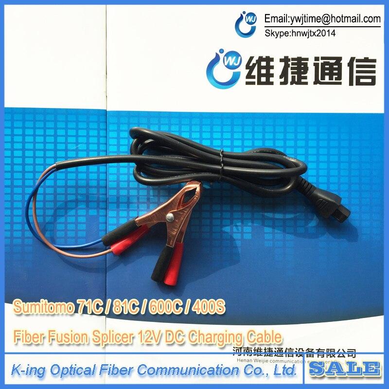 Sumitomo Type-71C/81C/600C/400 S Fiber Optique Fusion Colleuse 12 V DC de charge câble dcc-15