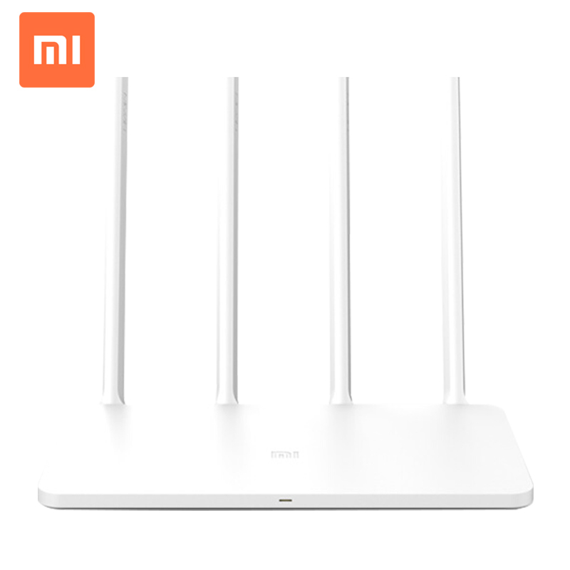 Version anglaise Xiao mi WiFi routeur 3 Smart routeur 4 antennes 1167 Mbps 802.11ac b/g/n WIFI double bande 2.4G/5G prend en charge lapplicationVersion anglaise Xiao mi WiFi routeur 3 Smart routeur 4 antennes 1167 Mbps 802.11ac b/g/n WIFI double bande 2.4G/5G prend en charge lapplication