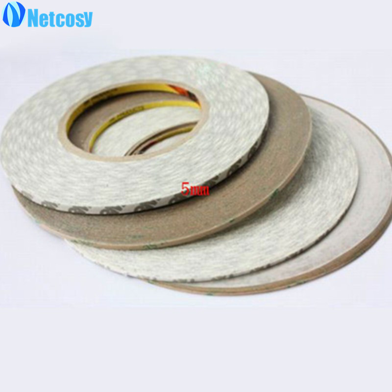 Netcosy White Double Side Sticker Adhesive Tape for iPad Air for iPad 4 for iPad Touch Screen Repair 2mm /3mm /5mm width sticker 60 50mm 2000 sheets per roll single row thermal transfer adhesive paper can customize use sticker printer empty shipping label