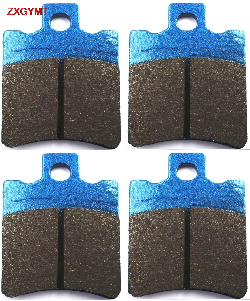 Sintered Brake Pad Set fit MALAGUTI <font><b>F18</b></font> 150 2000 - 2003 Front Rear 03 00 02 01 image