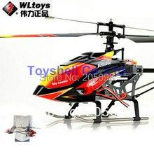 Щеточный мотор WLtoys V913 2,4G 4ch однопропеллер rc вертолет 70 см Встроенный гироскоп WL игрушки r/c helikopter модель