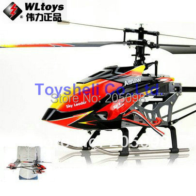 Free Shipping WLtoys V913 2 4G 4ch single propeller rc helicopter 70cm Built In Gyro WL