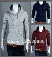 2016 Men Jacket New Bape Hooded Pullovers Hoodies Sweatshirts Upper Garment Frock Coat Men's Fleece Jacket M - XXXL