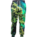Weed of the Galaxy Joggers Women Casual Pants Men Unisex Sweatpants Full Length 3d Printed Trousers Jogger Fashion Clothing