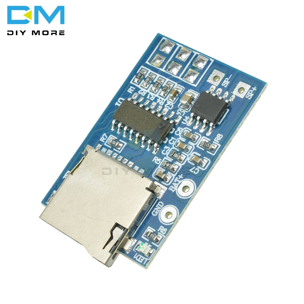Integrated Circuits Active Components Sweet-Tempered Gpd2846a Tf Card Mp3 Decoder Board 2w Amplifier Module