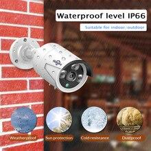 H.265 4CH POE CCTV System  NVR Kit