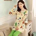 Nuevo 2015 Pijama Feminino mujeres pijamas pijamas para mujeres Pijama Entero Pijama Femme casa ropa Pijama mujeres Pigiami