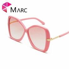 MARC New Sunglasses Women Square Oversized Fashion Sun Glasses Lady Brand Designer Shield Shades Gafas Oculos