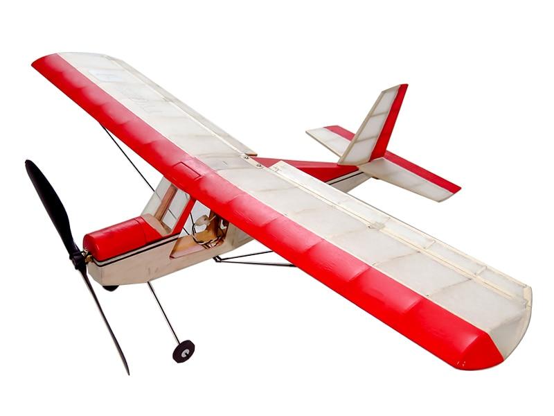 Free Shipping RC Plane Ultra-micro Balsawood Airplane Kit Aeromax Wingspan 400mm Building Kit Indoor Flying K5 1
