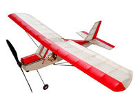Free Shipping RC Plane Ultra-micro Balsawood Airplane Kit Aeromax Wingspan 400mm Building Kit Indoor Flying K5 1