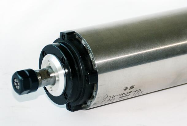 Special deal 0.8KW air-cooled spindle motor 65mm diameter 800W spindle 24000RPM engraving machine spindle