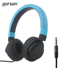 Gorsun GS788 Soft Headsets On ear Headphones with Mic and Volume Control for Smartphones Tablets PC