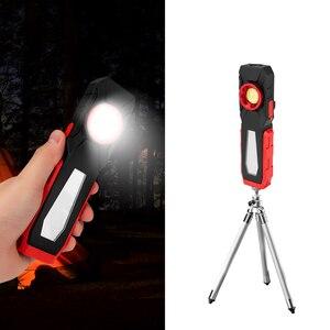 Image 5 - Đèn Rọi Ray COB Từ Ánh Sáng Làm Việc USB Sạc Đèn Pin Kiểm Tra Ánh Sáng Đèn Pin Tiện Dụng Di Động Đèn Lồng Có Móc Điện Di Động Ngân Hàng