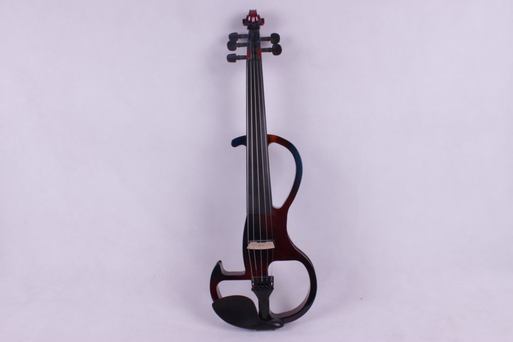 4 4 electric violin 5 string shape wood maple neck yinfente bridge bow case in violin from. Black Bedroom Furniture Sets. Home Design Ideas