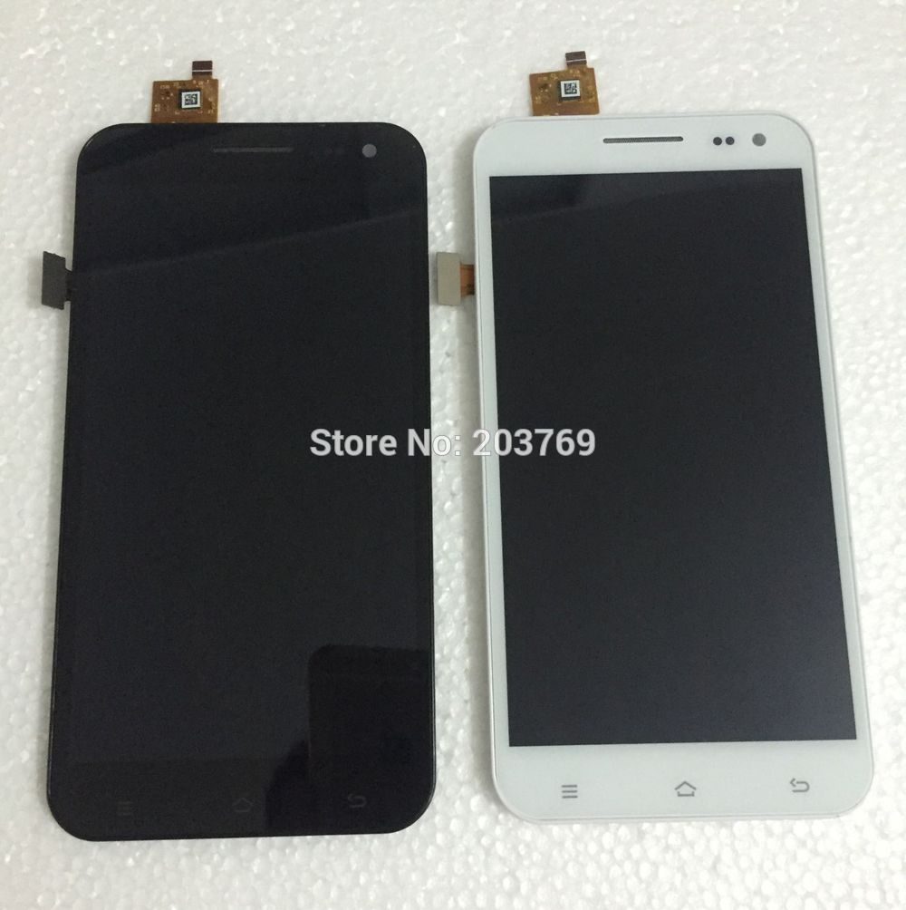 5.5 inch zp998 zp9520 originalfor ZOPO LCD + touch screen digital assembly surface shell (bracket) black and white